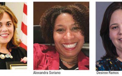 Hispanas en pos de candidatura al senado estatal del Distrito 37 y la fiscalía federal