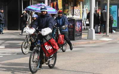 NYC passes new protections for delivery app workers